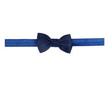 Детская синяя повязочка на голову