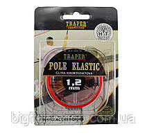 Штекерная резина Traper Pole Elastic 1.2 мм. (красная)