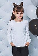 Блуза на дівчинку  з рюшами ,2 кольори .Р-ри 122-152, фото 1