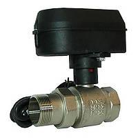 Шаровый кран с электрическим приводом Honeywell HAV 32 Rp 1 1/4 DN32 Kvs 123