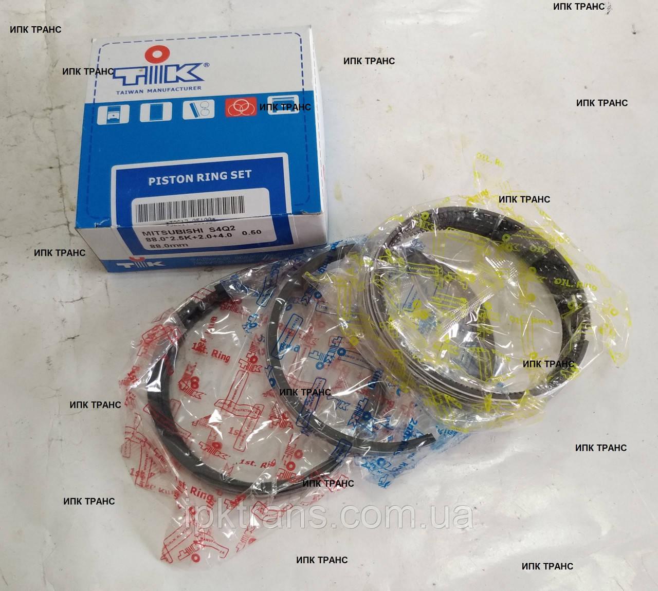 Кольца поршневые на двигатель MITSUBISHI S4Q (STD) 3061770010, 30617-70010
