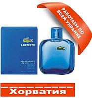 Lacoste L.12.12 Bleu  Хорватия Люкс качество АА++ Лакост О Де Лакост Л 12.12 Блю копия