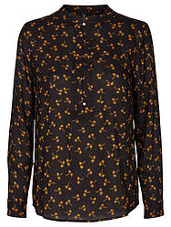 Рубашка черного цвета на длинный рукав Vebina 1 от  Desires(Дания) в размере S