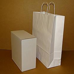 Коробка самозбираюча біла 250х240х120