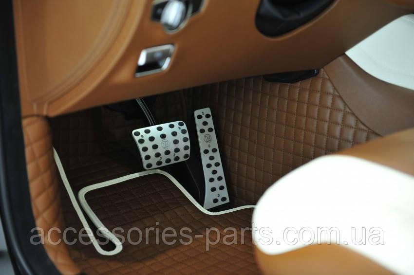 Накладки на педали Мерседес W222 S-Class Brabus Новые Оригинальные