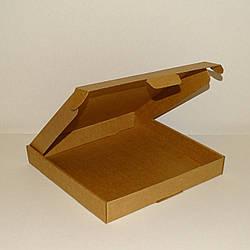 Коробка самозбираюча крафт 280х280х40