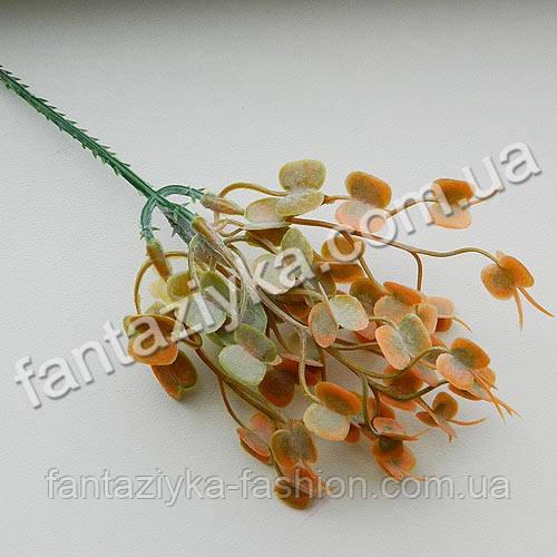 Ирландская травка на веточке, оранжевая