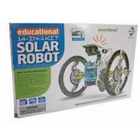 Конструктор на солнечных батареях робот 14 в 1