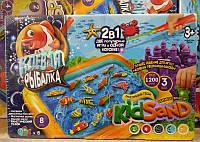Игра Клевая рыбалка+кинетический песок Данко Тойс KRKS-01-01