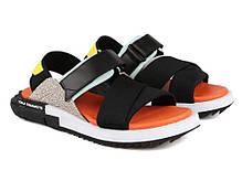 Мужские сандали Adidas Y-3 KAOHE SANDAL Black/Blue/Yellow/Orange B23722,  Адидас У-3, фото 3