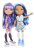 Набор Пупси Радужные Девочки Poopsie Rainbow Girls Фиолетовая Леди или Голубая Леди Серия 1+ 20 сюрпризов, фото 2