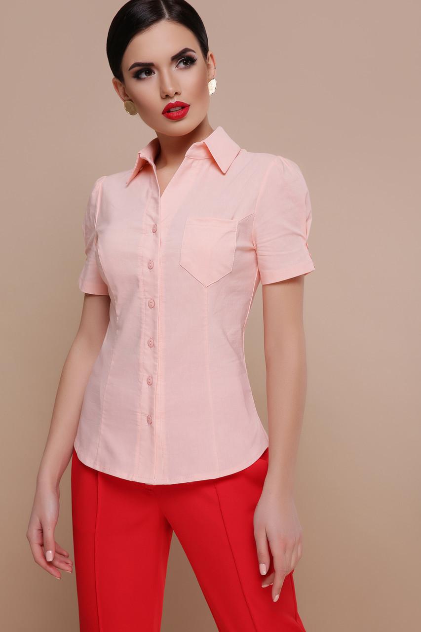 Жіноча блуза до короткого рукава