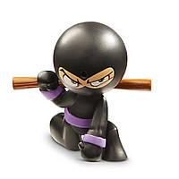 Интерактивная фигурка Funrise Ниндзя Stink Foo Черное кимоно, фиолетовый пояс (70506)