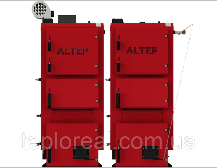 Котел твердотопливный длительного горения Альтеп DUO PLUS 95 кВт