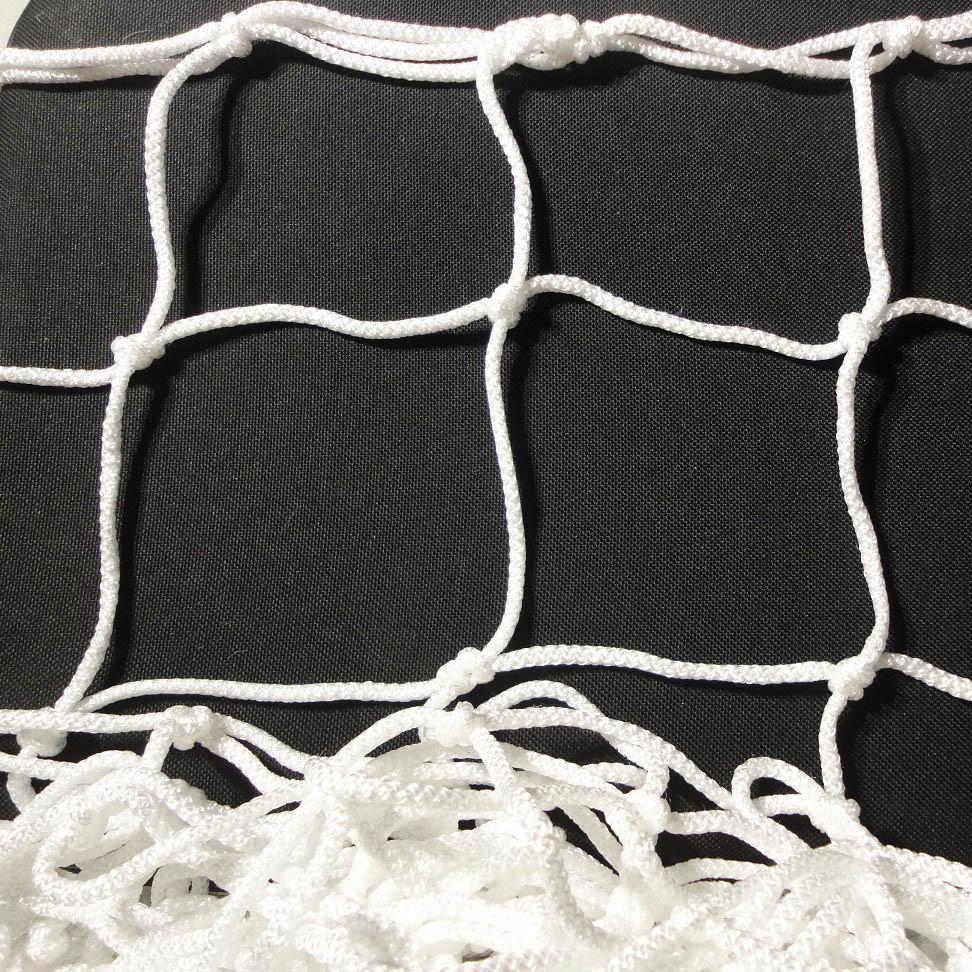Сетка-гаситель для футзала, гандбола «ЭЛИТ» белый (комплект из 2 шт.)