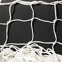 Сетка-гаситель для футзала, гандбола «ЭЛИТ» белый (комплект из 2 шт.), фото 1