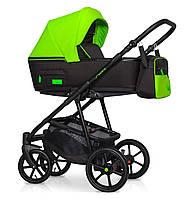 Детская коляска универсальная 2 в 1 Riko Swift Neon - 21 Ufo Green