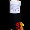 Фонтан сценический золотой F104G, продолжительность роботы: 60 секунд, высота искр: 4 метра