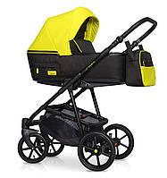 Детская коляска универсальная 2 в 1 Riko Swift Neon - 23 - Crazy Yellow, фото 1