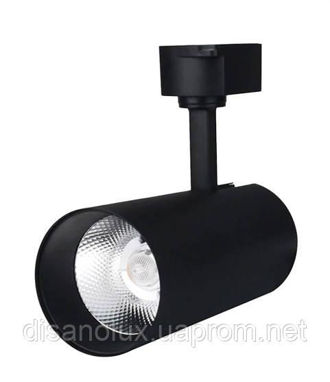 Светильник LED трековый на шинопровод TRL6WE2 6W  4100К  черный