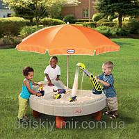 Детская Песочница Столик Веселая Стройка Little Tikes 401N, фото 1