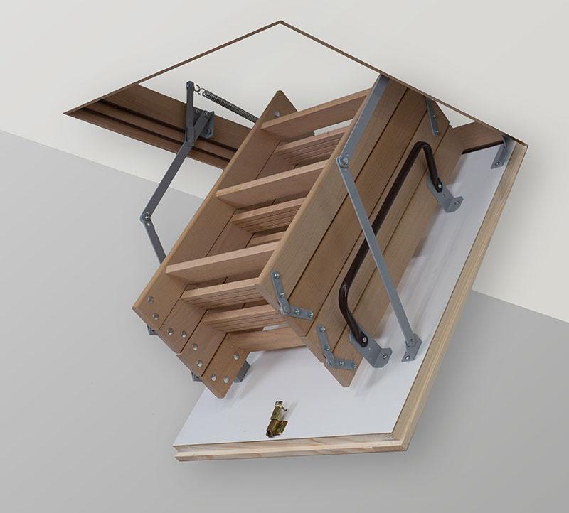 Чердачные лестницы TermoPlus 4s крышка 46мм