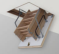 Чердачные лестницы TermoPlus 4s крышка 46мм, фото 1