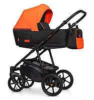 Детская коляска универсальная 2 в 1 Riko Swift Neon -24 - Party Orange