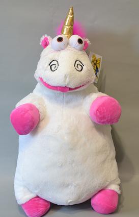 М'яка плюшева іграшка Єдиноріг Флаффи 40 см, в наявності Флаффи іграшка з Гидке Я