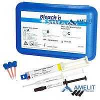 Отбеливание Блич энд смайл ( Bleach&Smile, automix set, Schutz Dental), набор.