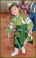 """Український костюм (стрій) для дівчинки """"Агата"""". Прокат 98-110 (116) та на замовлення"""