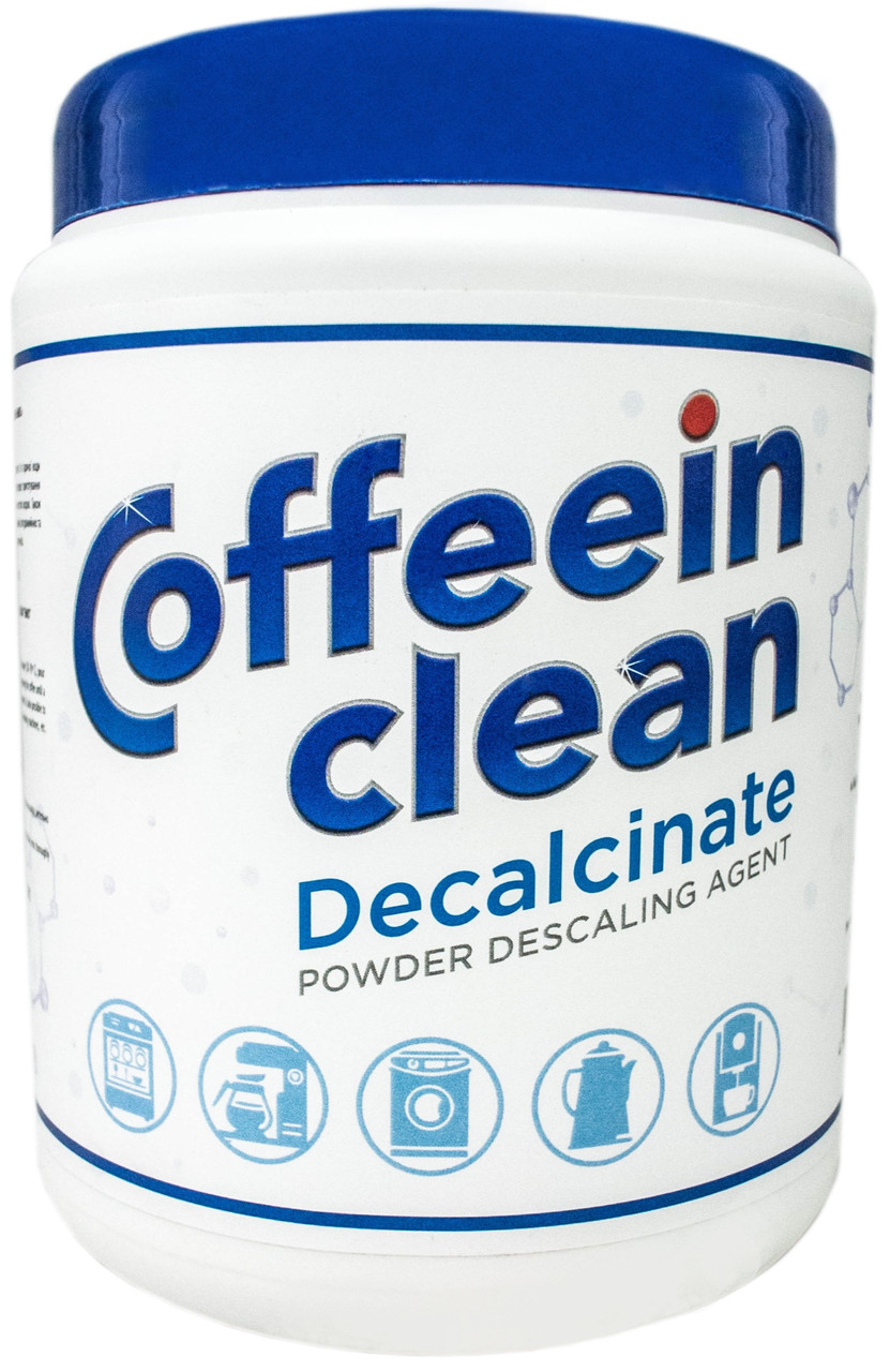 Универсальное средство Coffeein clean Decalcinate для очистки от накипи
