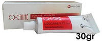 Гель анестетик Q-Caine Gel 30гр. (Кю Каин) Lidocaine 9.6%