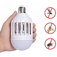 LED Лампа приманка уничтожитель насекомых, убийца комаров Zapp Light, фото 1