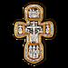 Распятие Христово. Святая Троица. Свт. Николай Чудотворец. Мч. Трифон. Три святителя. Икона Божией Матери, фото 2