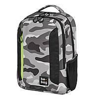 Рюкзак Herlitz Be.Bag be.adventurer Camouflage Сірий
