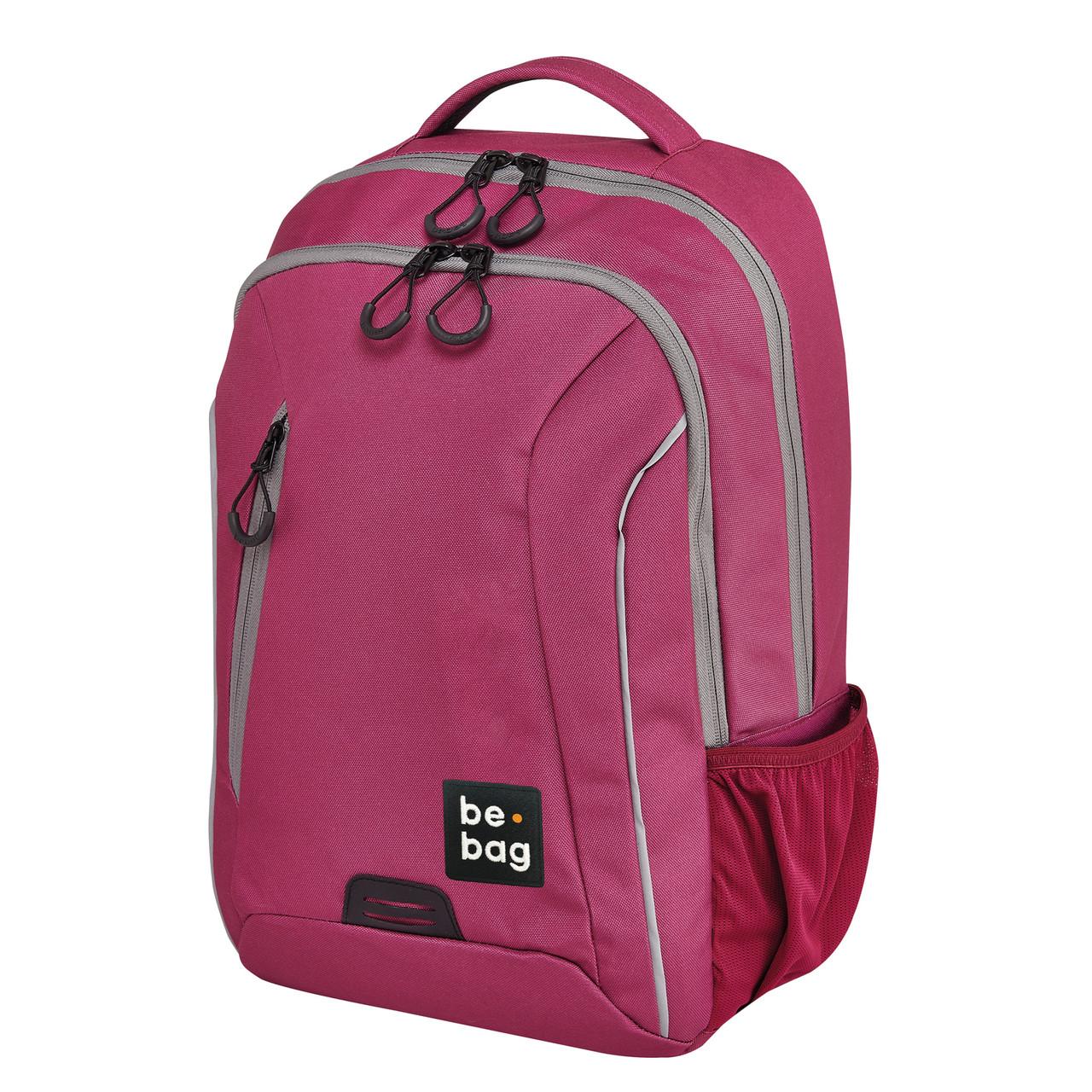Рюкзак Herlitz Be.Bag be.urban Berry&Grey рожевий