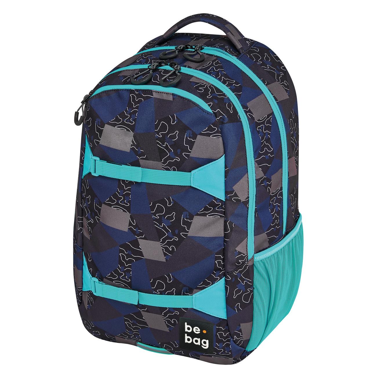 "Рюкзак Herlitz Be.Bag be.explorer Edgy Labyrinth синьо-блакитний ""лабіринт"""