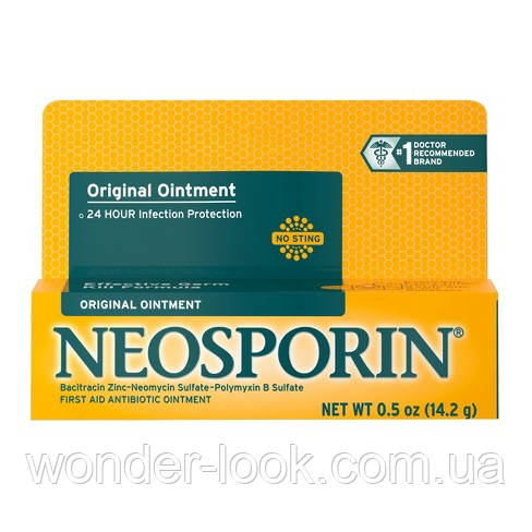 Неоспорин, Neosporin - Заживляющая Мазь 28 грамм