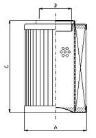 Фильтроэлемент CCH 152, Фильтр MHT 152, MHT 152, MDF 152, SPP 152, SPM 152, Sofima