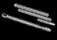 "Ключ динамометрический 1"" 500-2500NM двойная установка резиновая ручка King Tony 34862-3FF (Тайвань)"