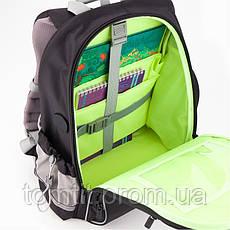 """Комплект. Рюкзак школьный Smart K19-702M-4 (черный) + пенал + сумка, ТМ """"Kite"""", фото 2"""