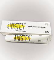 Обезболивающий крем анестетик Anesten 30гр. (Анестен) Лидокаин 10,56% Метилпарабен 1,5%