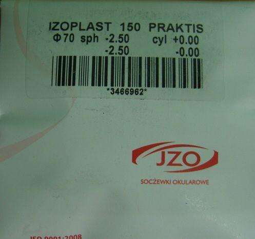 Оптическая линза IZO Praktis 1.5