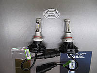 Комплект LED авто лампы X3 ZЕЅ - hb3 (9005) -  2 шт., фото 1