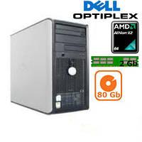 Системный блок Dell OptiPlex 740 (2 ядра/2Gb DDR2/80Gb)