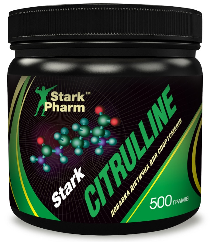 Цитруллин Stark Pharm - Citrulline Malate Passionfruit (500 г), passionfruit/маракуйя, Украина, банка, 2,945 гр