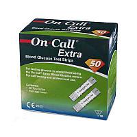 Тест полоски On Call Extra (Он Колл Экстра) 50 шт, США