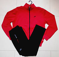 Трикотажный мужской батальный спортивный костюм  Nike