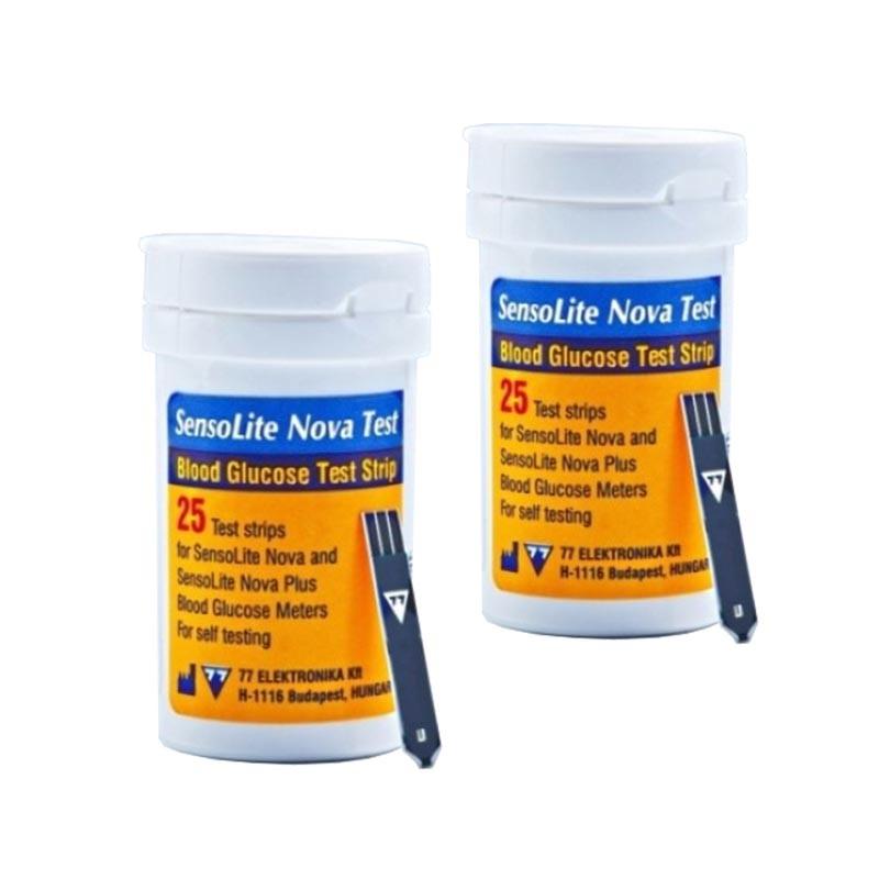 Тест полоски SensoLite Nova 2 упаковки 25 шт.